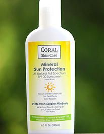 CORAL Skin Care all natural | ABOUT US