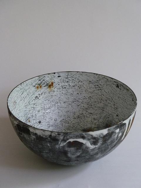 vitreous enamel vessels, via Flickr.