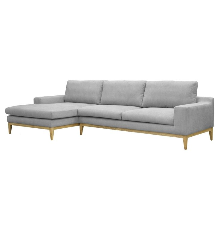 Original christian rudolph christansen osvald 3 seater for 3 seater chaise lounge
