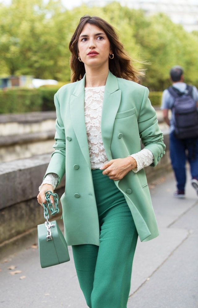 89e67513 How To Nail Monochromatic Dressing Like A Fashion Pro in 2019 | Street  Style Snaps | Fashion, Monochrome fashion, Colourful outfits