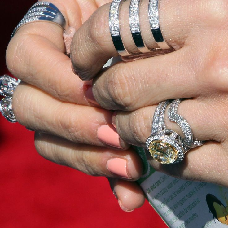 9 Engagement Rings Celebrity Husbands Designed - Mike Fisher and Carrie Underwood from InStyle.com