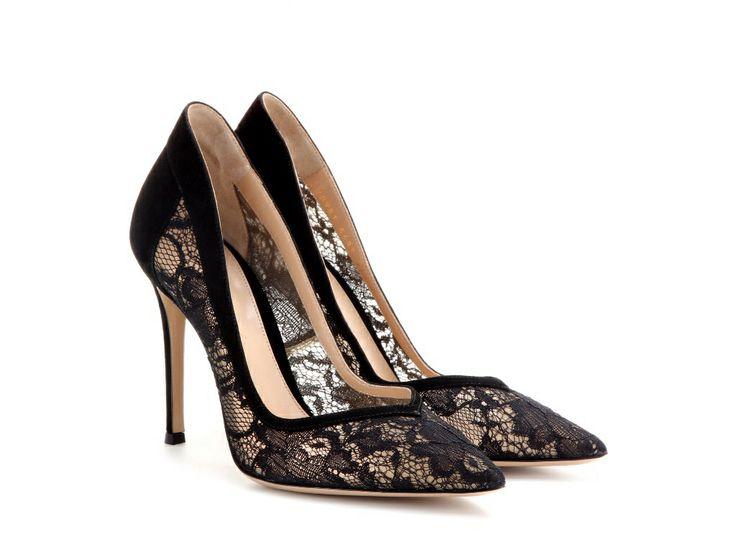Kanten schoenen