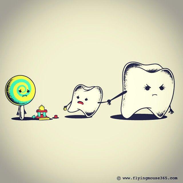 Bad Friend  #friend#teeth#candy#buddy#flyingmouse365 #chowhonlam #tees #tshirt #illustration#art#funny #lol #witty