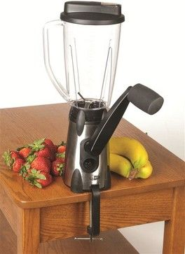Hand-Cranked Blender - eclectic - blenders and food processors - Lehman's