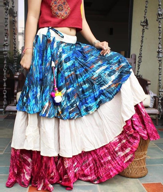 Layered Skirt is Best for your New Style Choli