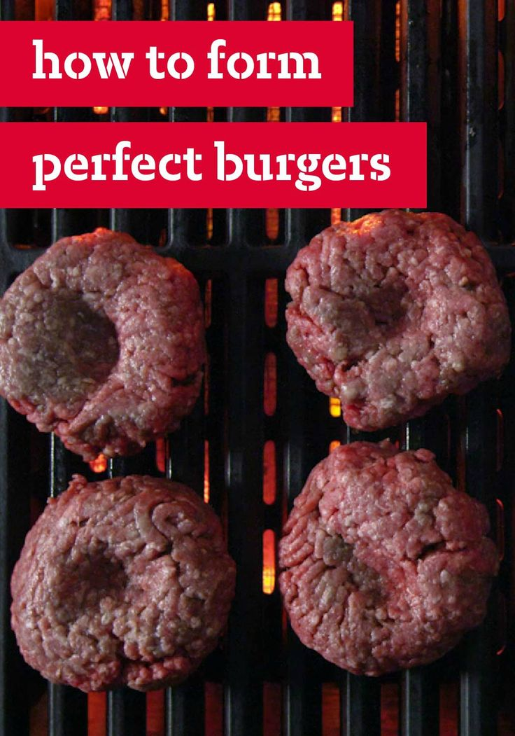 How to Form Perfect Burgers: Are you curious to find out the tricks to forming perfect, evenly cooked burgers every time? Click and pin to find out!