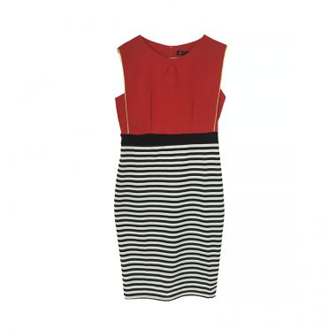 Mix Stripes Dress