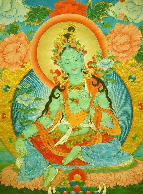 Tara - Tibetan goddess of wisdom and compassion.