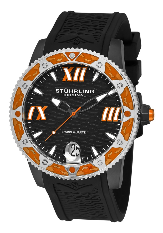 Stuhrling Original 225G.33561, Created for the active man, this Regatta Weekender infuses your ensemble with color and style. Embrace Stuhrling Original's Regatta Weekender with pride!