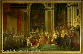脚色された世界をチェック!『ナポレオン一世の戴冠式と皇妃ジョゼフィーヌの戴冠』 <ルーブル美術館の見所>