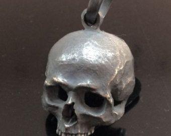 Einzigartige Sterling Silber Totenkopf Ring von silverzone88