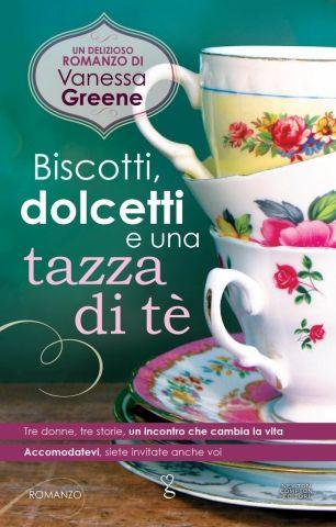 biscotti dolcetti e una tazza di tè -