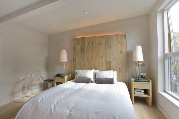 Hacer un cabecero de cama con palets dormitorios - Hacer cabecero cama ...