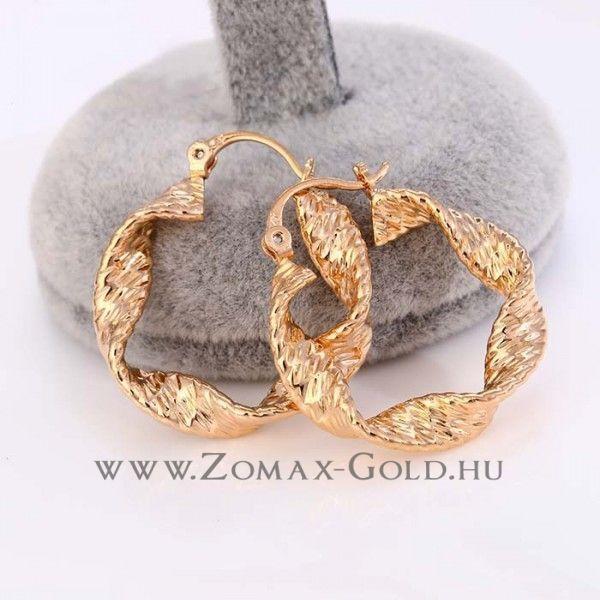 Topaz fülbevaló - Zomax Gold divatékszer www.zomax-gold.hu