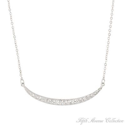 Rhodium Neckpiece - Sweet Subtlety - Australia - Fifth Avenue Collection - Jewellery that changes the way you see fashion