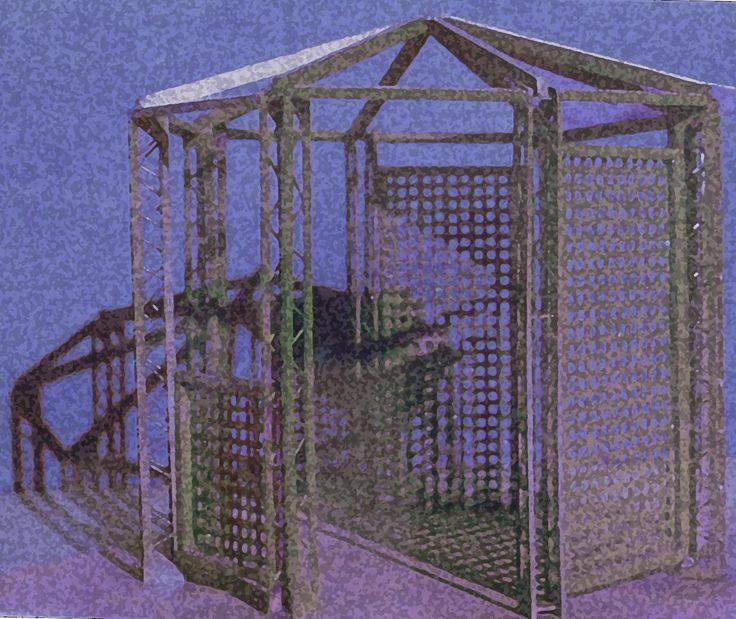 Idea per un gazebo 1990-2000 con Arch. P. Fracasso