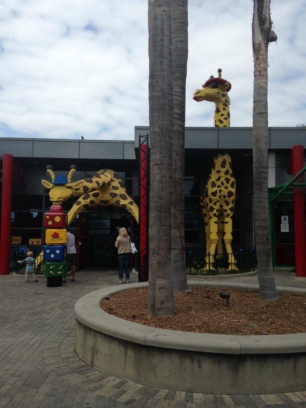 Giraffes ruin Legoland. (They sure do.) Thanks, Melanie!