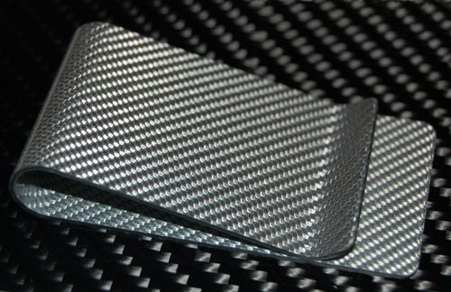 The Weißglas Carbon Fiber Money Clip™ by Carbon Fiber Designs