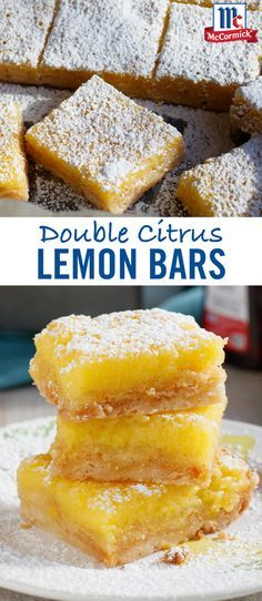 Start with pure flavor: Lemon extract brings bright, citrus flavor to these easy lemon bars. Add orange juice for an extra citrus twist, and you've got yourself the perfect spring dessert recipe.