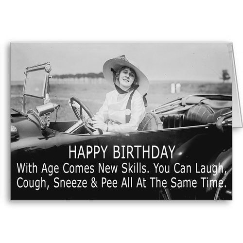 Funny Birthday Wishes, Card for Girlfriend, Laugh and Pee