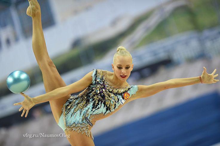 Yana Kudryavtseva (Russia) won gold in ball finals at World Cup (Kazan) 2016