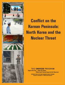In the curriculum Conflict on the Korean Peninsula: North Korea and the Nuclear Threat students explore the history of the conflict between North and South Korea and the development of North Korea's nuclear program. With this historical understanding, students consider the issues surrounding the international response to the North Korean nuclear threat.