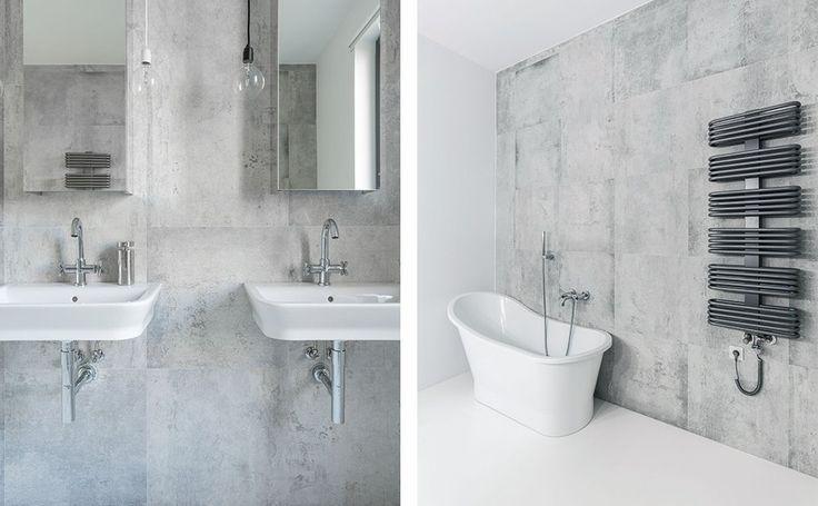 Beton we wnętrzach. Szara łazienka w stylu minimalistycznym. #design #urządzanie #urząrzaniewnętrz #urządzaniewnętrza #inspiracja #inspiracje #dekoracja #dekoracje #dom #mieszkanie #pokój #aranżacje #aranżacja #aranżacjewnętrz #aranżacjawnętrz #aranżowanie #aranżowaniewnętrz #ozdoby #łazienka #łazienki #beton