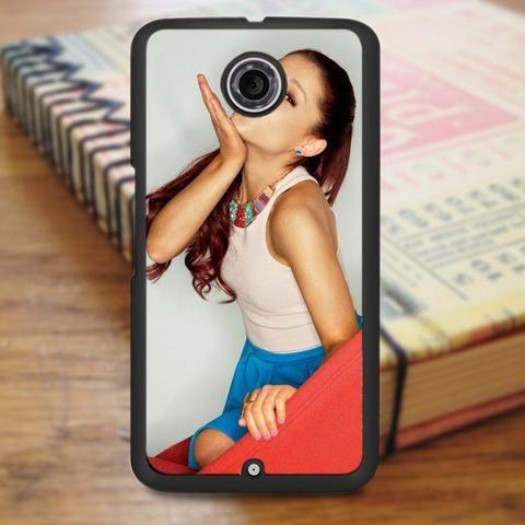 Ariana Grande Cute Kiss Nexus 6 Case