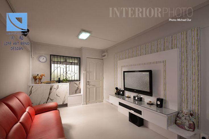 bedok 3 room flat hdb home interior kitchen living
