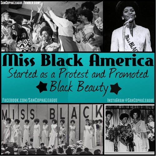 "Miss Black America… A lot of people never even heard of it or knew the pageant even existed. Some people don't agree with what ""beauty pageants"" consist of at all and thats understandable, but the origin of The Miss Black America Pageant and its intent is something to be admired and respected. It started in 1968, in Philadelphia, PA. by J. Morris anderson as a protest against the very popular ""Miss America"" Pageant for them having very few African-American women in their contest and no…"