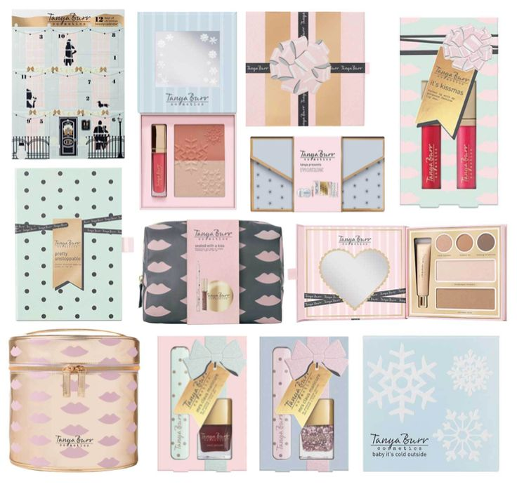 Tanya Burr Christmas Collection 2016, Gift Sets, Advent Calendar, Full Collection, Products, Palette, Hannah Heartss, Beauty Blog,