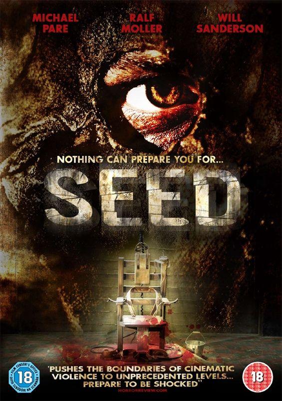 Locandina del primo Max Seed.  Seed è un film horror del 2007 scritto, diretto e co-prodotto da Uwe Boll