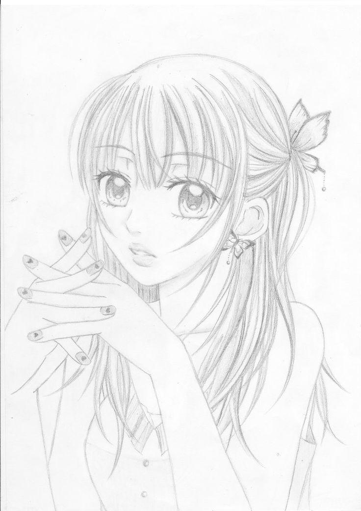 Cute manga girl!