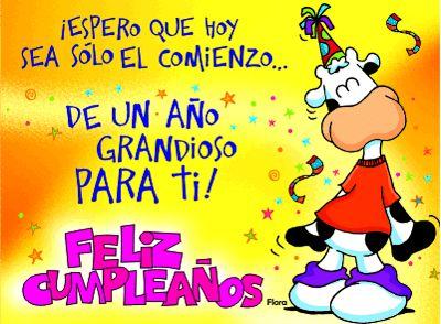 Frases, chistes, anécdotas, reflexiones y mucho más.: Frases y tarjetas de cumpleaños. ¡Espero que hoy sea sólo el comienzo de un año grandioso para ti!
