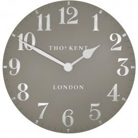 Arabic Metallic Cool Mink  Wall Clock 50cm - Comes in different colours and sizes!