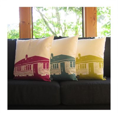 NZ State House Cushions - Genevieve Packer