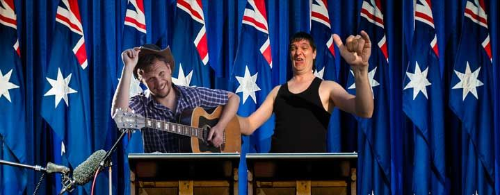 Team Austraya - Franky Walnut & Cliffy - Cremorne Theatre, QPAC - Tickets & Packages