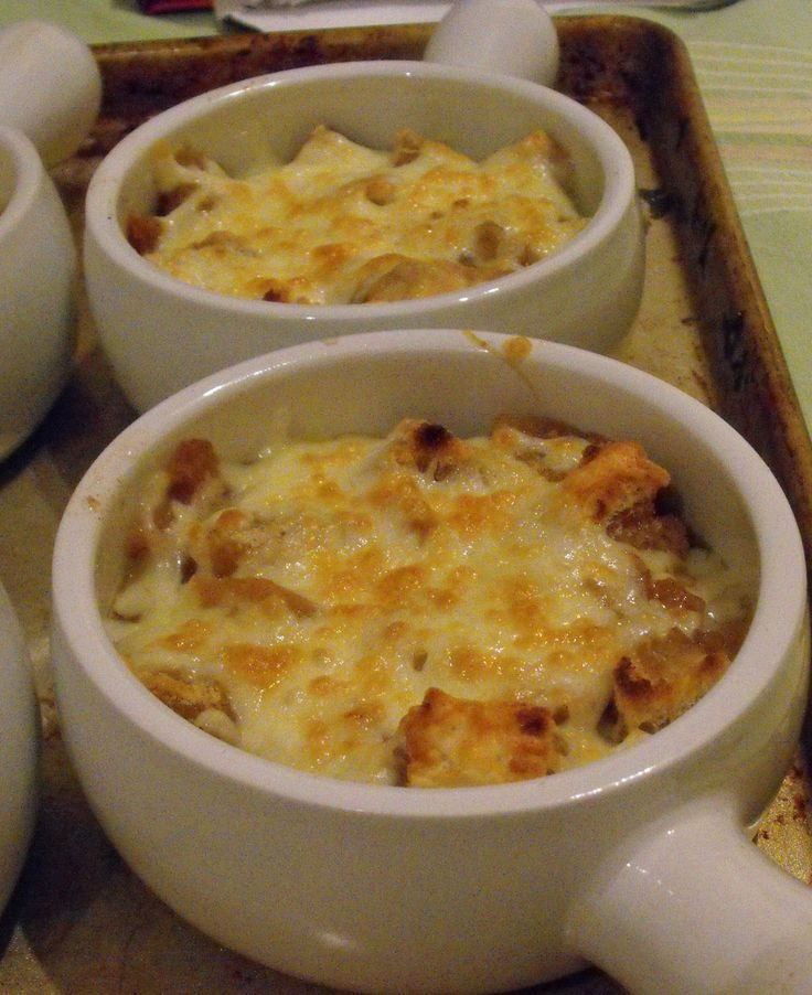 Jo and Sue: French Onion Soup