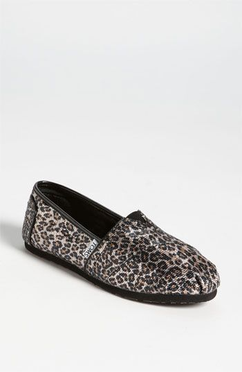 For Her: TOMS 'Classic Panthera - Sequins' Slip-On #Nordstrom #Holiday #Exclusive