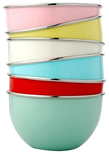 Playnation Mixing Bowls by John Lewis - contemporary - cookware and bakeware - John Lewis