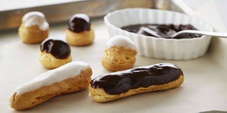 Profiteroles and Éclairs