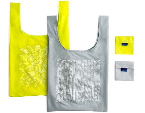 Reusable Bags / Baggu for JCrew #eco