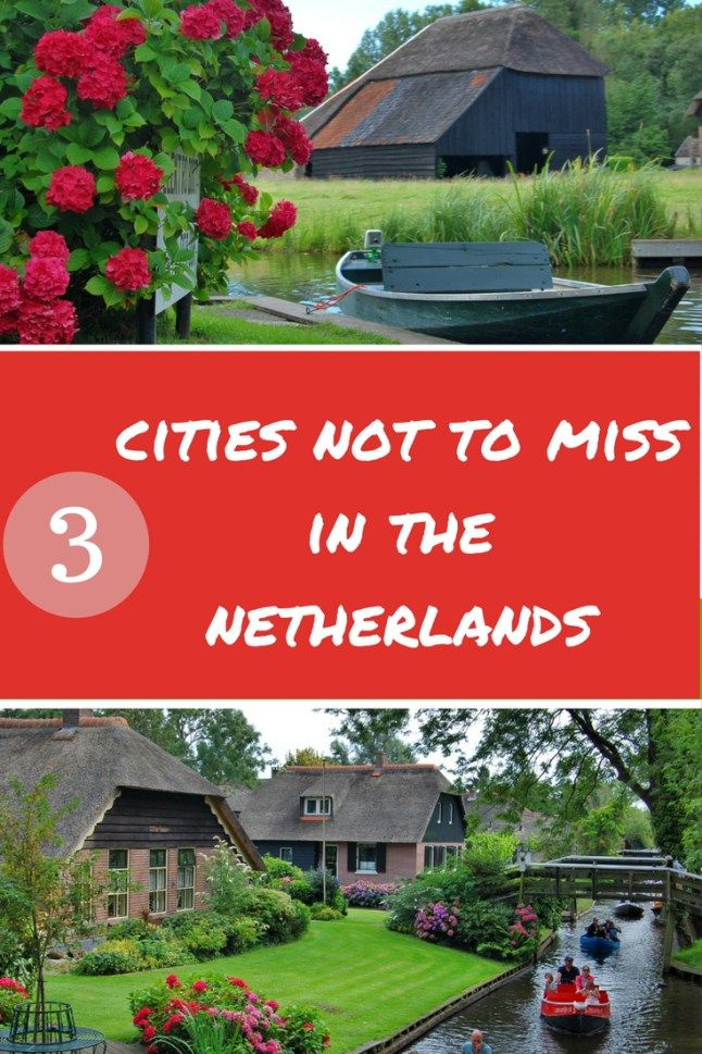3 of the most beautiful places in The Netherlands | Volendam, The Netherlands | Giethoorn | Zaanse Scans