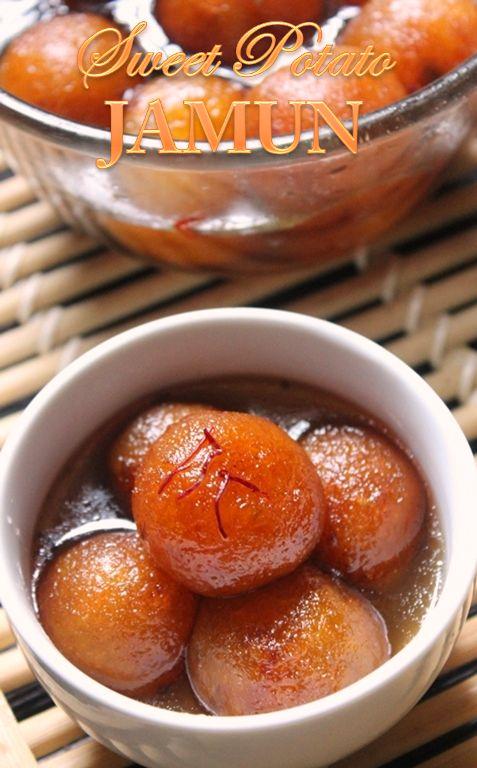 YUMMY TUMMY: Sweet Potato Gulab Jamun Recipe / Gulab Jamun using Sweet Potato…