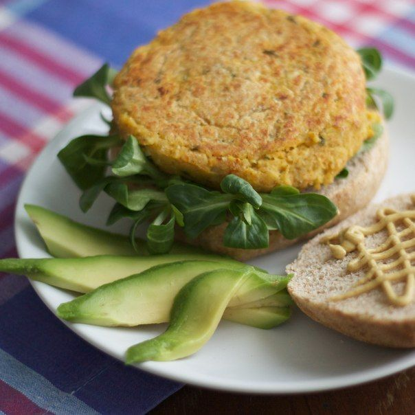 Vegan Chickpea Burger