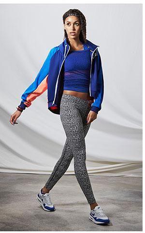 NIKE SPORTSWEAR LOOK - Featuring Nike Leg-A-See Sportswear Leggings