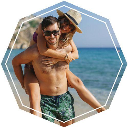The Hustle Duo (dowille & sintauras) - couple beach photography couple goals