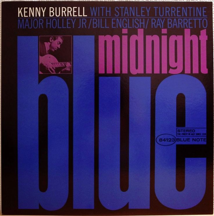 KENNY BURRELL / STANLEY TURRENTINE / MIDNIGHT BLUE / BLUE NOTE / TOSHIBA JAPAN