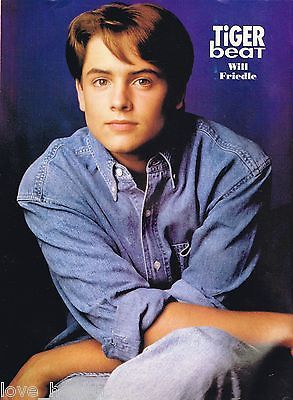 WILL-FRIEDLE-TEEN-BOY-ACTOR-11-x-8-MAGAZINE-POSTER-PINUP-year-1994 $6.98