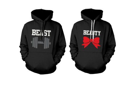 365 In Love His and Her Matching Hooded Sweatshirts Beauty and Beast Couples Hoodies love http://www.amazon.com/dp/B00JXBUL9C/ref=cm_sw_r_pi_dp_M4F2tb1GWJ273Y28